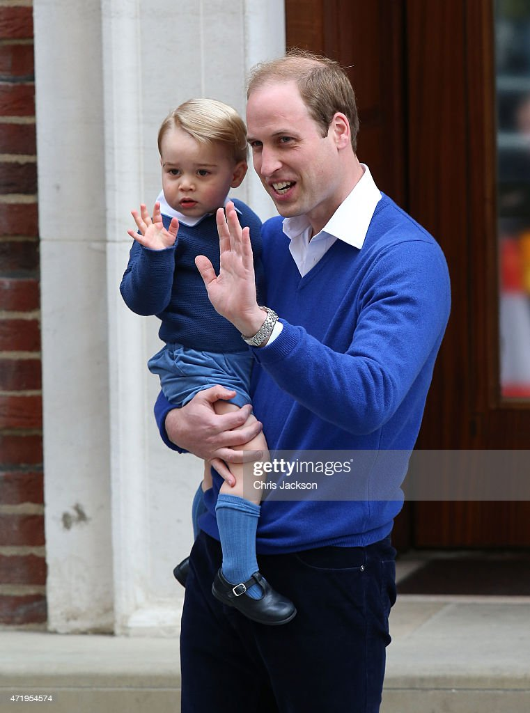 The Duke And Duchess Of Cambridge Welcome A Daughter : News Photo