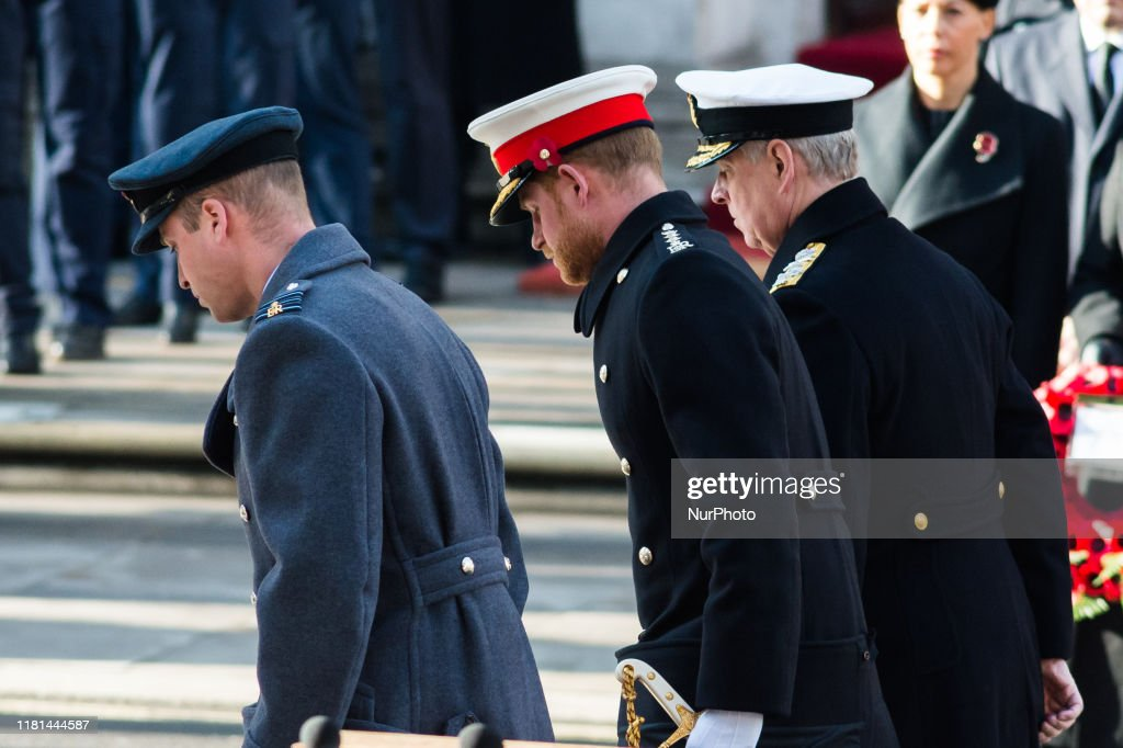 Remembrance Sunday Ceremony in London : News Photo