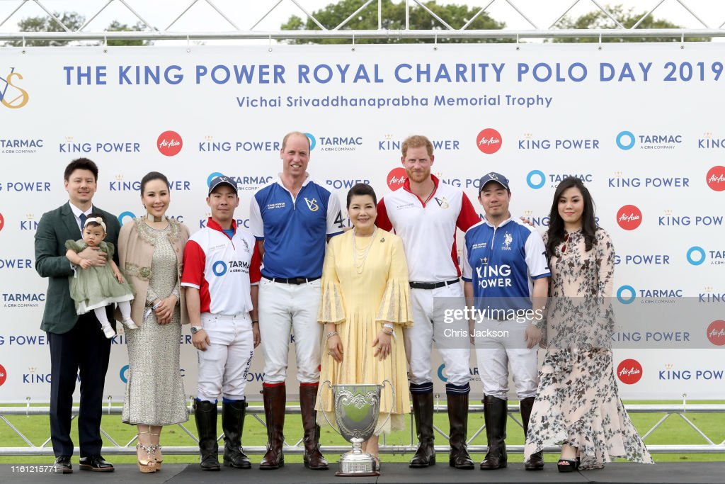 The King Power Royal Charity Polo Day : News Photo