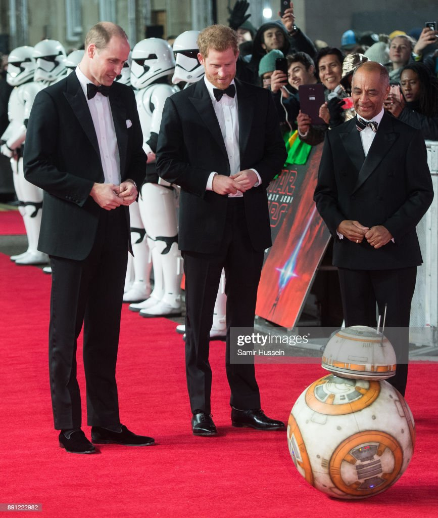 Prince William Duke Of Cambridge And Prince Harry Meet Bb As They Attend The European