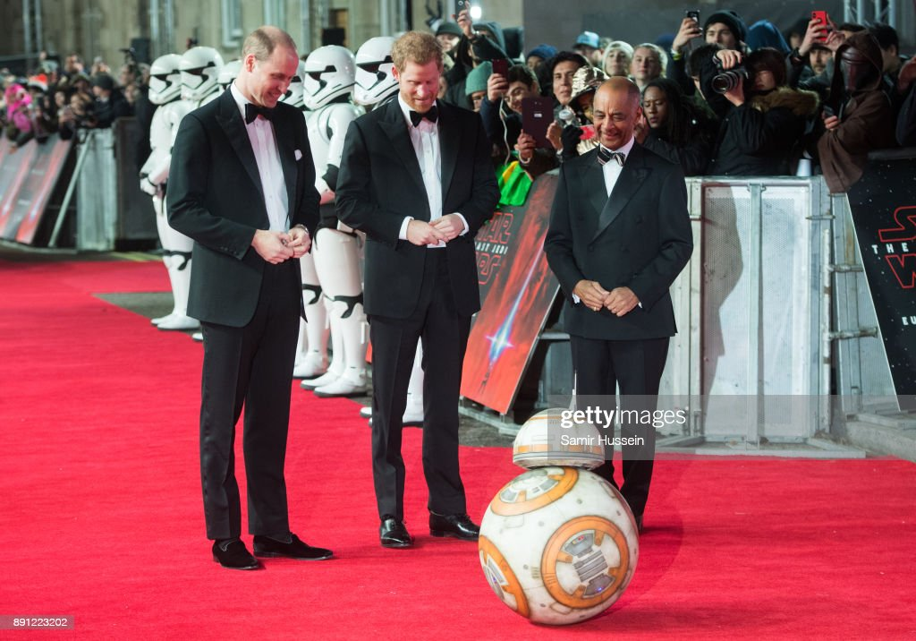'Star Wars: The Last Jedi' European Premiere - Red Carpet Arrivals : News Photo