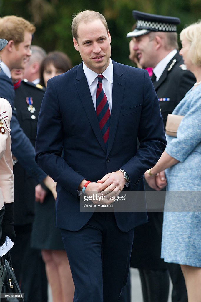 Prince William, Duke of Cambridge and Prince Harry visit Help For Heroes Recovery Centre at Tedworth House on May 20, 2013 in Tidworth, England.