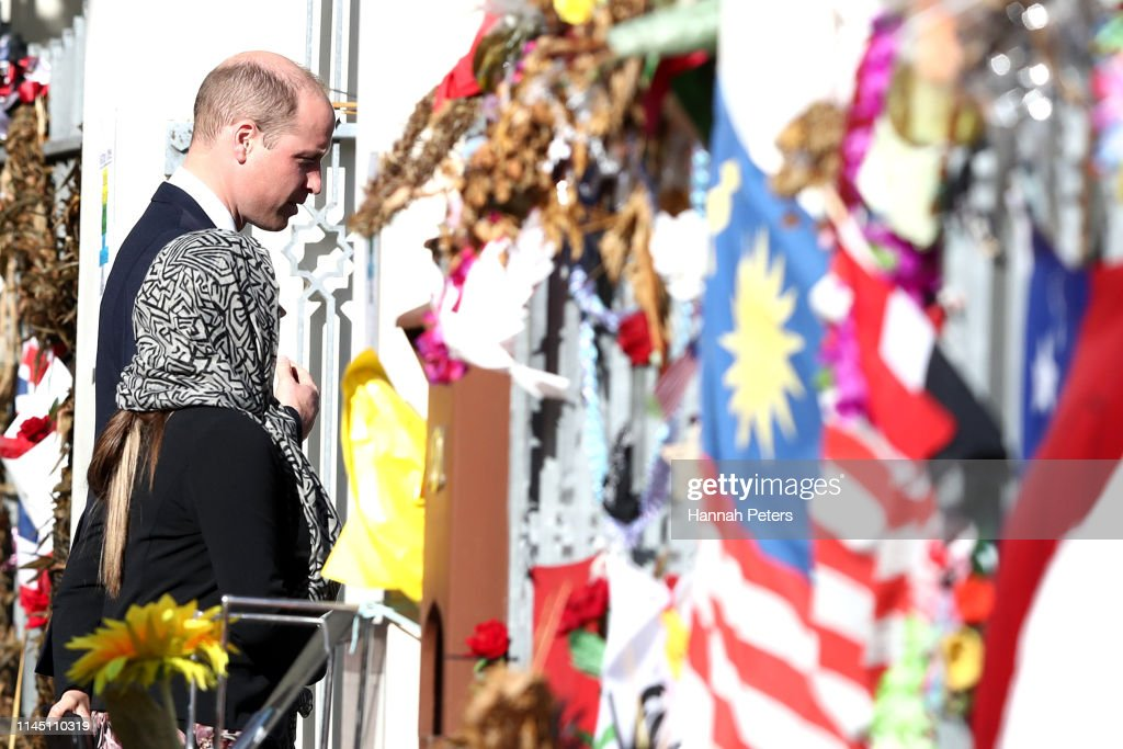 The Duke Of Cambridge Prince William Visits New Zealand : Foto jornalística