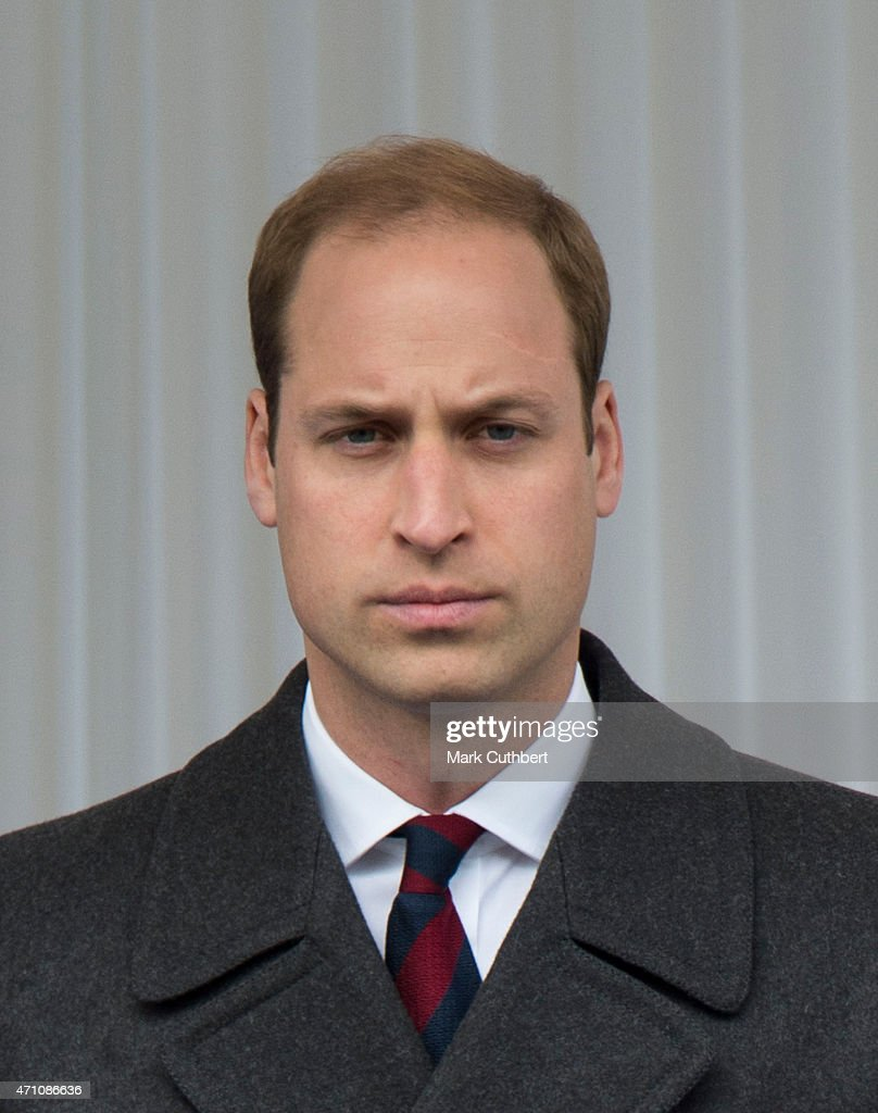 Prince William, Duke of Cambridge attends a commemorative ceremony marking the centenary of the Gallipoli campaign on April 25, 2015 in London, England.