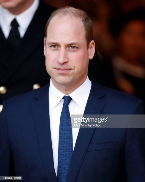 Prince William, Duke of Cambridge attends a Service of Thanksgiving for the life and work of Sir Donald Gosling at Westminster Abbey on December 11,...