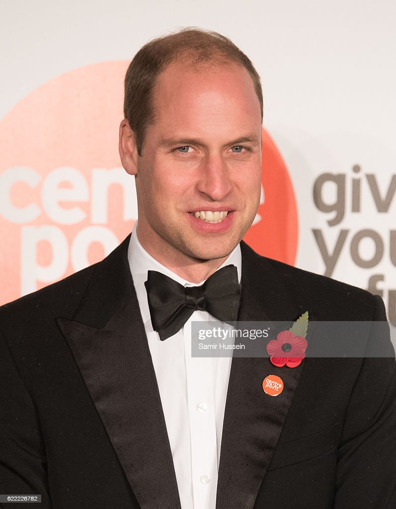 Prince William, Duke of Cambridge attends Centrepoint At The Palace at Kensington Palace on November 10, 2016 in London, England.