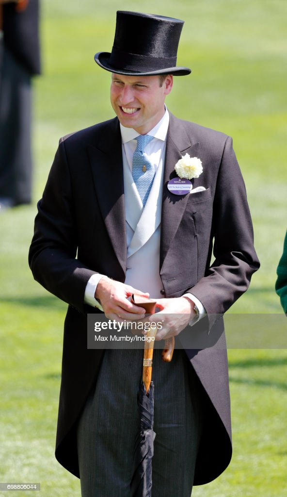Prince William, Duke of Cambridge attends day 1 of Royal Ascot at Ascot Racecourse on June 20, 2017 in Ascot, England.