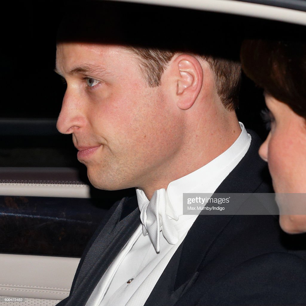 Prince William, Duke of Cambridge attends the annual Diplomatic Reception at Buckingham Palace on December 8, 2015 in London, England.