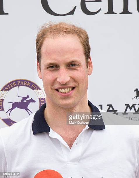 Prince William, Duke of Cambridge attends the Jerudong Park Trophy at Cirencester Park Polo Club on June 15, 2014 in Cirencester, England.