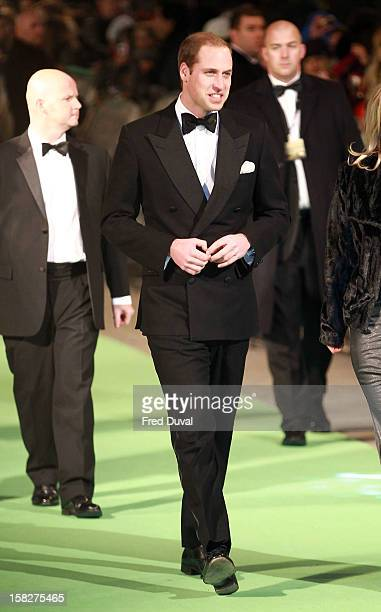 Prince William, Duke of Cambridge attends the Royal Film Performance of 'The Hobbit: An Unexpected Journey' at Odeon Leicester Square on December 12,...