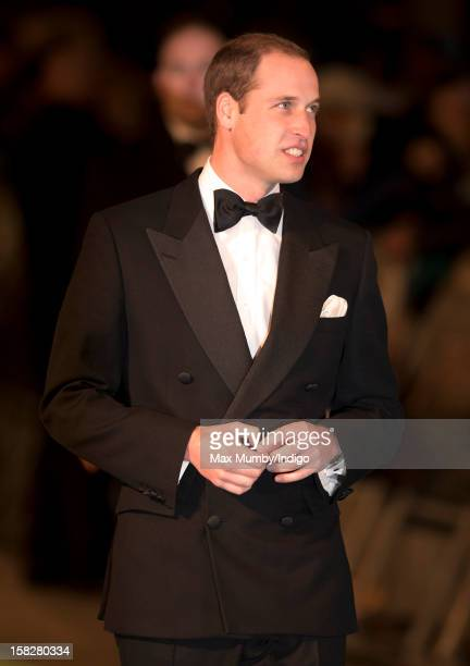 Prince William Duke of Cambridge attends the Royal Film Performance of 'The Hobbit An Unexpected Journey' at Odeon Leicester Square on December 12...