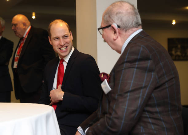 GBR: The Duke Of Cambridge Attend The Wales VS France Six Nations Match