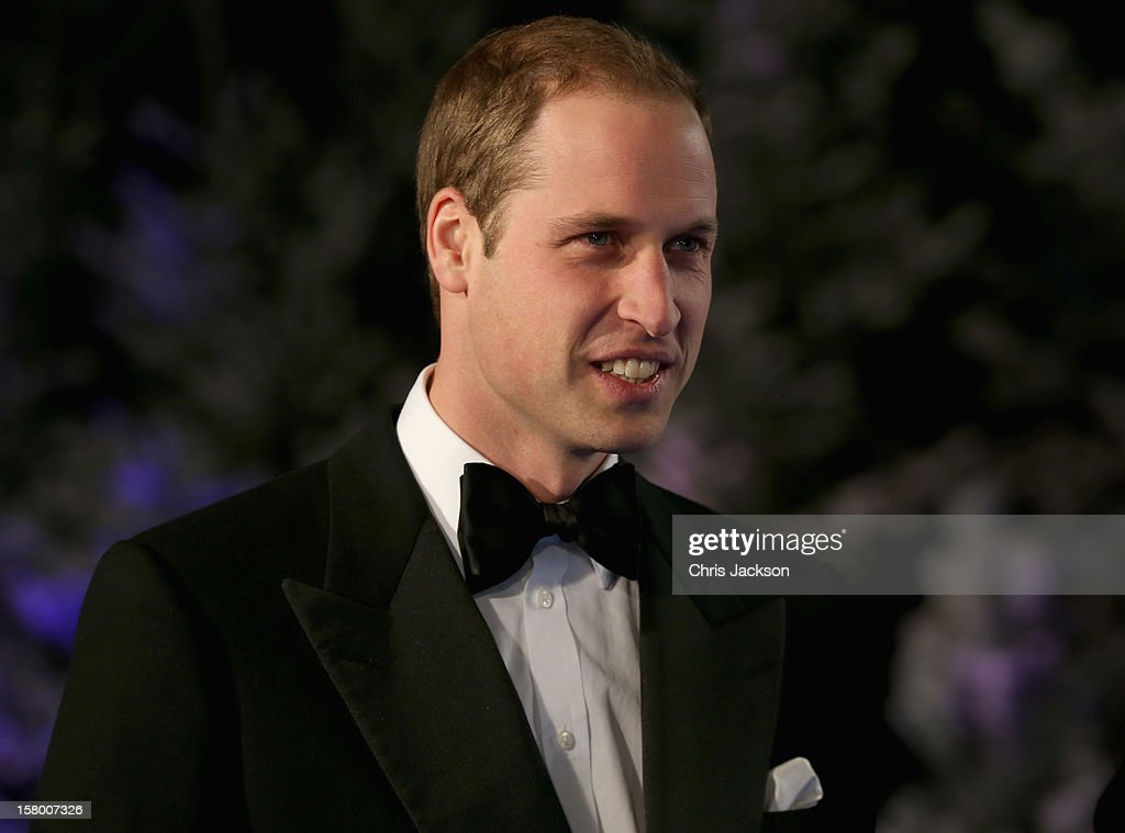 Prince William, Duke of Cambridge attends the Winter Whites Gala at Royal Albert Hall on December 8, 2012 in London, England.