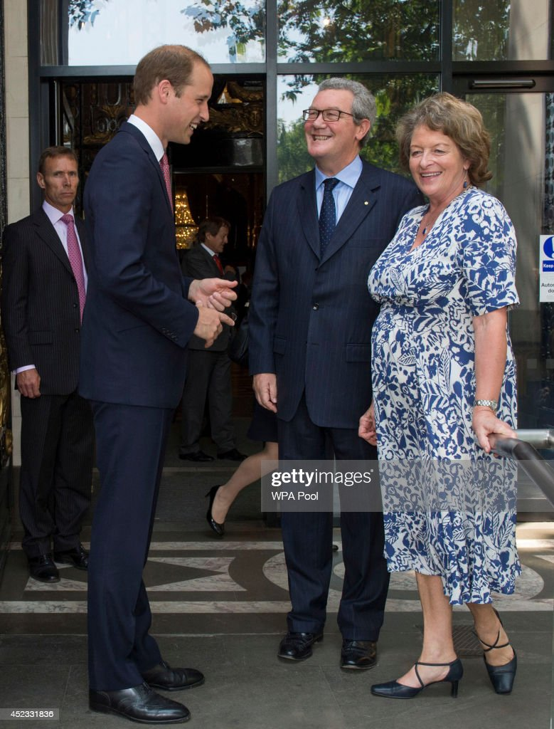 The Duke Of Cambridge Attends The Matthew Flinders Memorial Statue Unveiling Ceremony