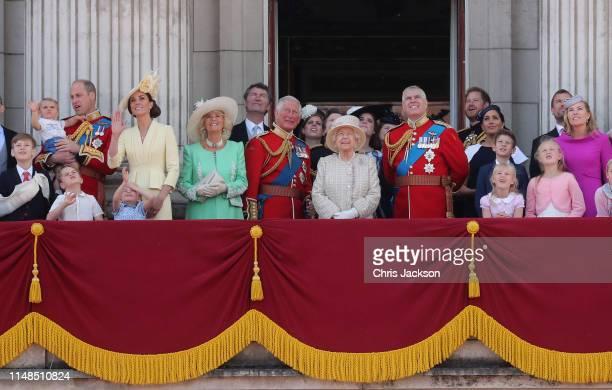 Prince William, Duke of Cambridge, Catherine, Duchess of Cambridge, Prince Louis of Cambridge, Prince George of Cambridge and Princess Charlotte of...