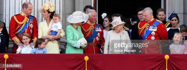 Prince William, Duke of Cambridge, Catherine, Duchess of Cambridge, Prince Louis of Cambridge, Prince George of Cambridge, Princess Charlotte of...