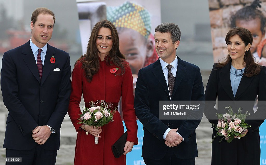 The Duke And Duchess Of Cambridge Visit A Unicef Facility In Denmark : News Photo