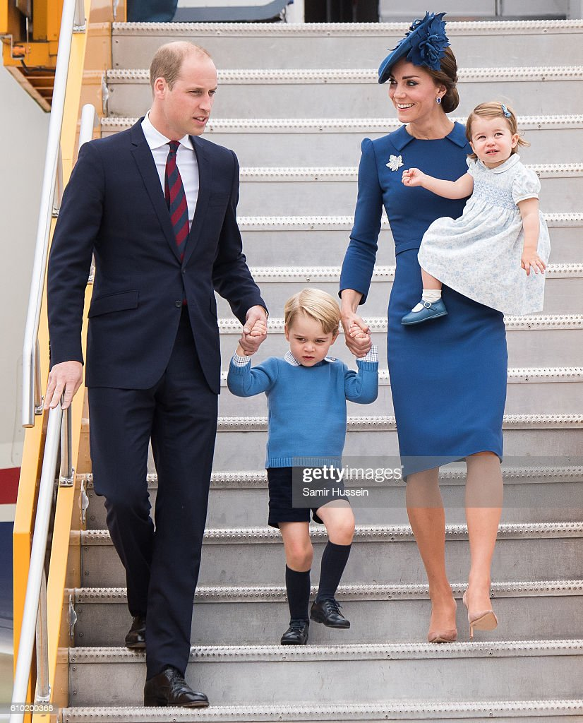 2016 Royal Tour To Canada Of The Duke And Duchess Of Cambridge - Victoria, British Columbia : News Photo