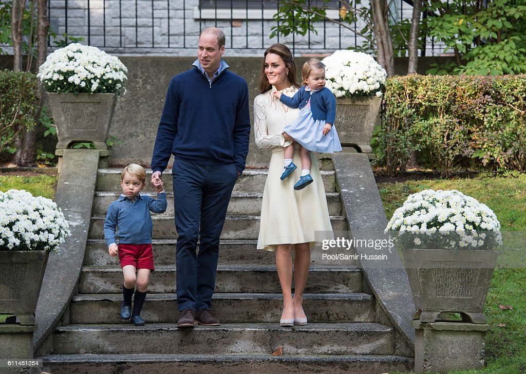 2016 Royal Tour To Canada Of The Duke And Duchess Of Cambridge - Victoria, British Columbia : ニュース写真