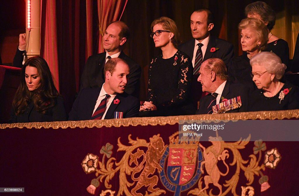 Royal British Legion Festival of Remembrance At The Royal Albert Hall : News Photo