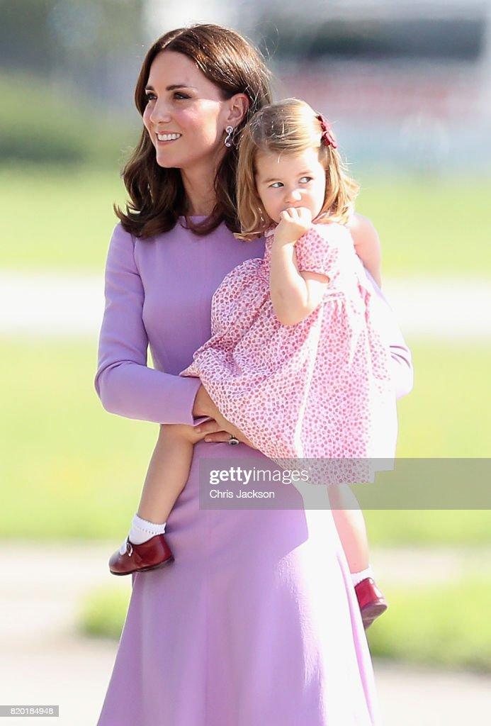 The Duke And Duchess Of Cambridge Visit Germany - Day 3 : Nachrichtenfoto