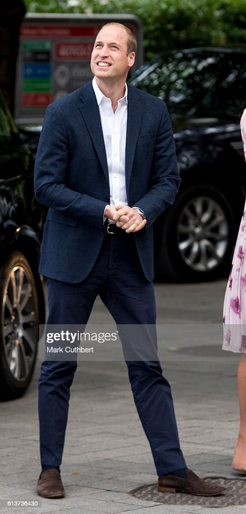 The Duke & Duchess OF Cambridge And Prince Harry Celebrate World Mental Health Day At The London Eye With Heads Together : News Photo