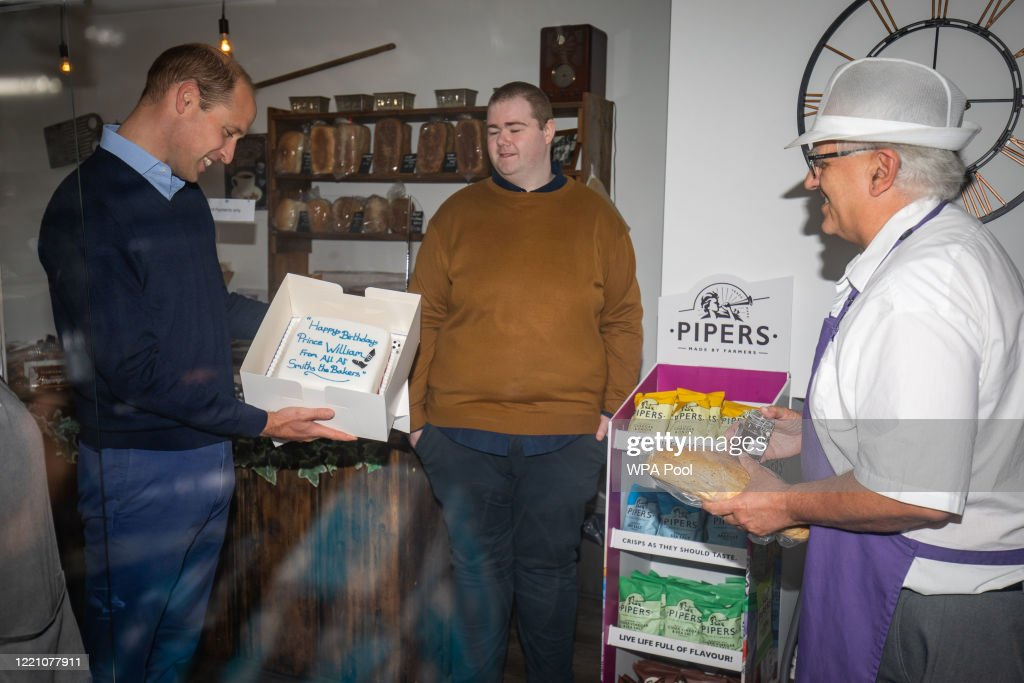 The Duke of Cambridge Visits Bakers in King's Lynn : News Photo