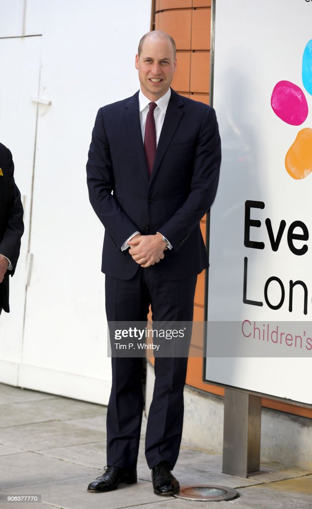 The Duke Of Cambridge Launch's Nationwide Veterans Programme