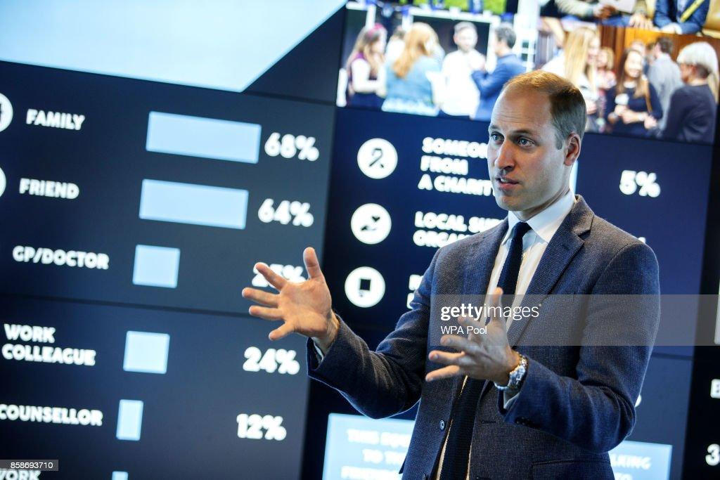 The Duke Of Cambridge Visits The Data Observatory : News Photo