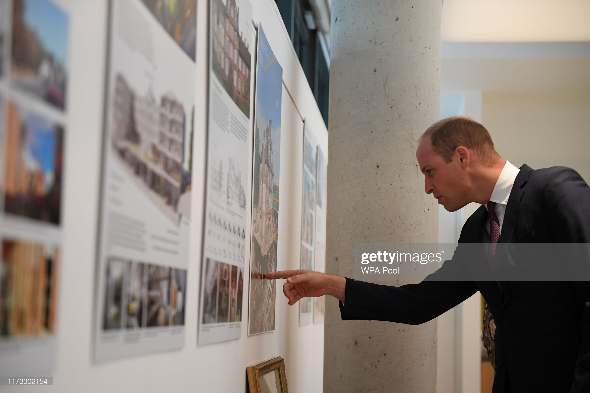 prince-william-duke-of-cambridge-looks-at-artwork-illustrating-the-picture-id1173302154