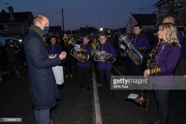 Prince William, Duke of Cambridge meets locals and pay tribute to the work of individuals and organisations that have gone above and beyond in...