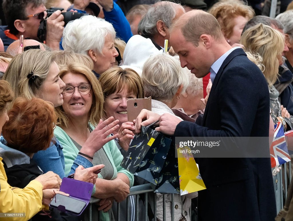 The Duke And Duchess Of Cambridge Visit Cumbria : News Photo