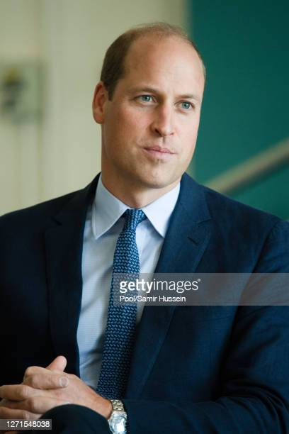 Prince William, Duke of Cambridge meets with Chiefs of the PSNI, Fire Service and Ambulance Service, as he attends a PSNI Wellbeing Volunteer...