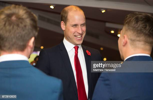 Prince William Duke of Cambridge meets WRU Coach Core apprentices a scheme designed by the Royal Foundation of the Duke and Duchess of Cambridge and...