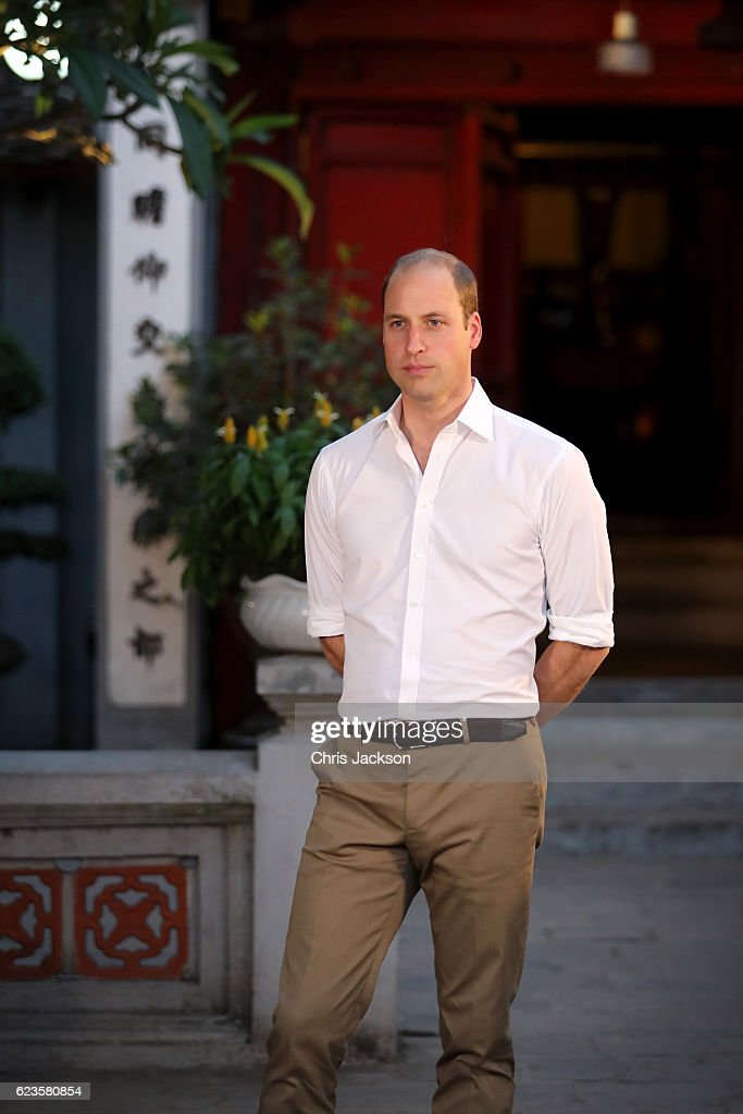 Prince William, Duke of Cambridge on the first day of an official visit on November 16, 2016 in Hanoi, Vietnam. The Duke of Cambridge is attending the third International Wildlife Trade Conference.
