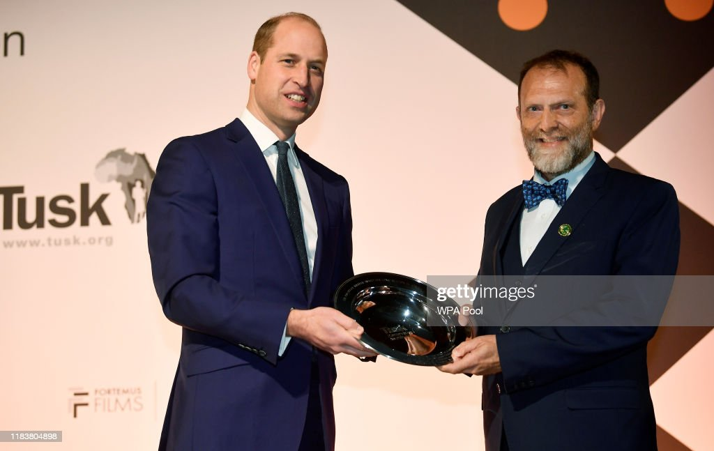The Duke Of Cambridge Attends The Tusk Conservation Awards : News Photo