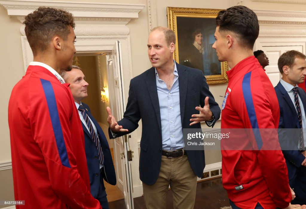 The Duke Of Cambridge Hosts Reception For The Under-20 England Football Team