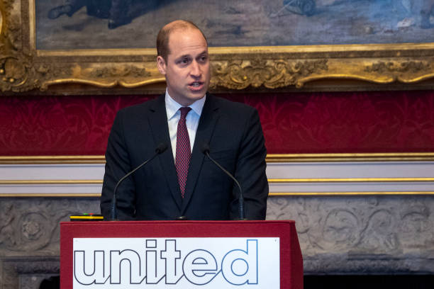 GBR: The Duke Of Cambridge Attends A Meeting Of The United For Wildlife Taskforces