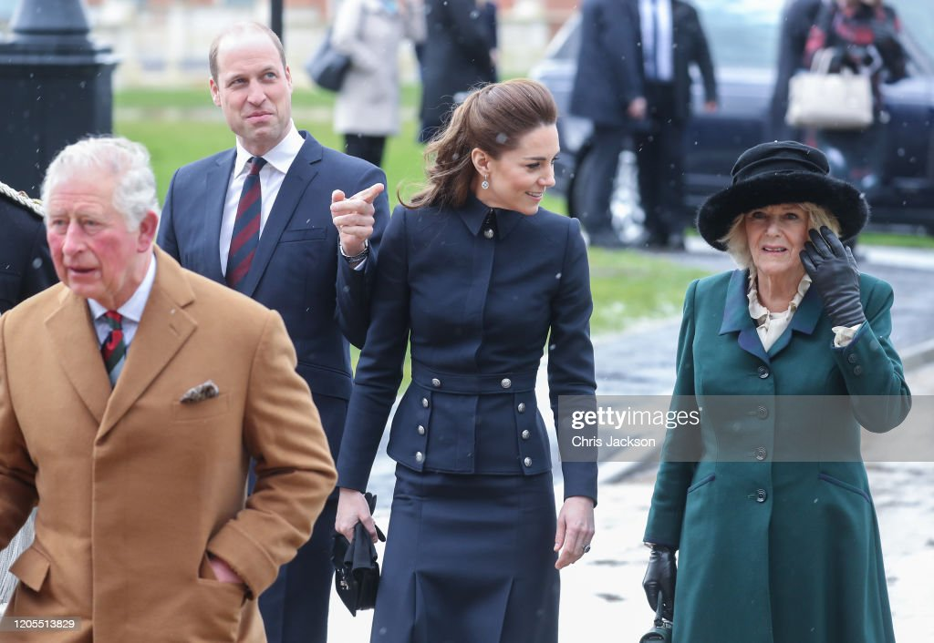 Prince Of Wales And Duchess Of Cornwall Visit Leicestershire : News Photo