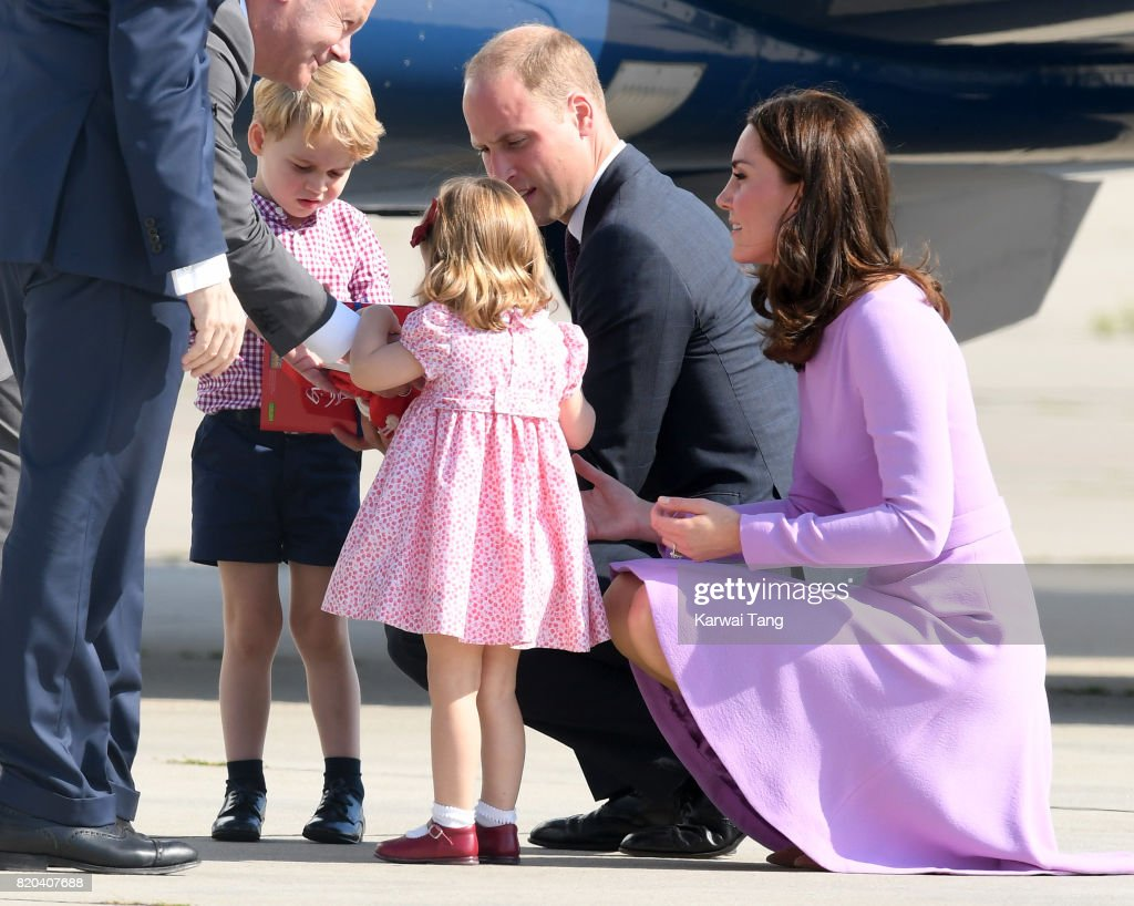 Prince William Duke Of Cambridge Prince George Princess