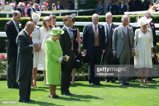 Prince William Duke of Cambridge Prince Philip Duke of Edinburgh Catherine Duchess of Cambridge Princess Beatrice of York Queen Elizabeth II John...