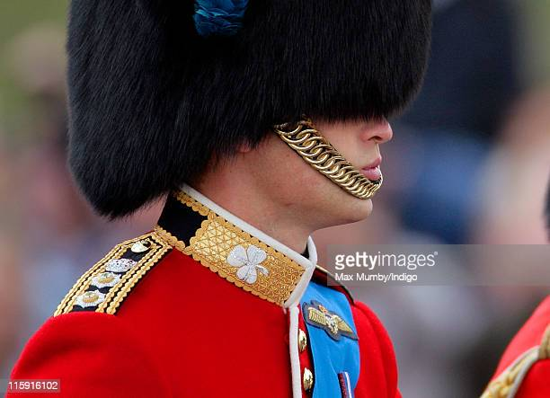 Prince William Duke of Cambridge rides his horse as he takes part in the Trooping the Colour parade on June 11 2011 in London England The ceremony of...