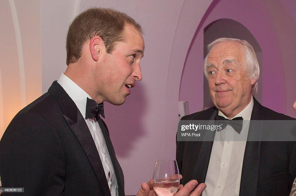 The Duke Of Cambridge Attends Child Bereavement UK's 21st Birthday dinner : News Photo