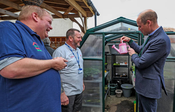 GBR: The Duke Of Cambridge Visits Brighter Futures