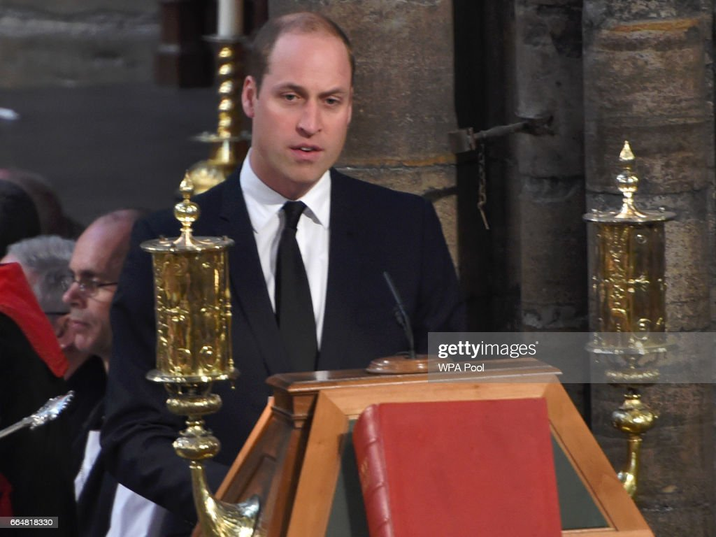 The Duke And Duchess Of Cambridge & Prince Harry Attend Service Of Hope : News Photo