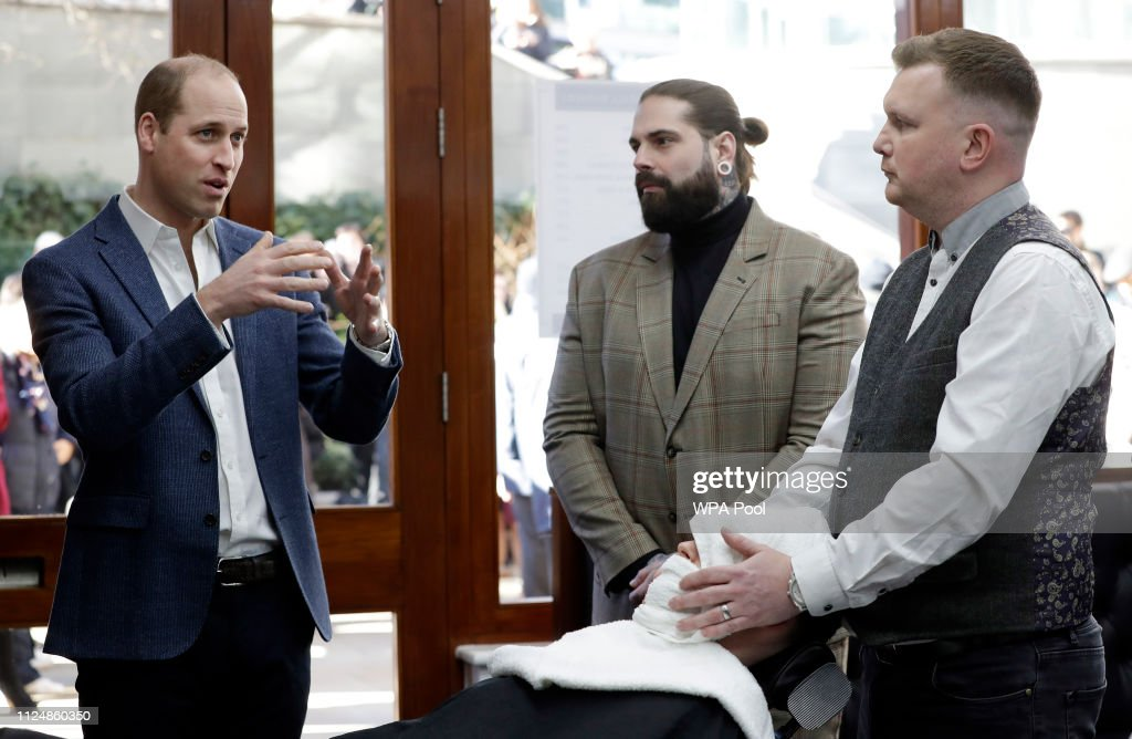 The Duke Of Cambridge Mental Health And Wellbeing Projects In London : News Photo
