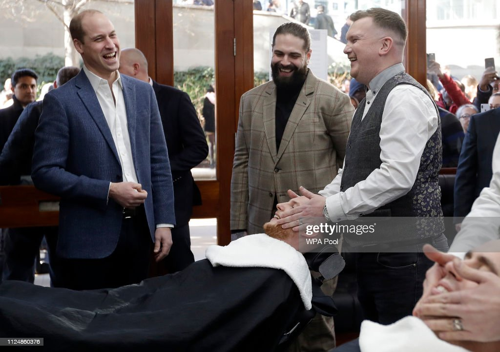 GBR: The Duke Of Cambridge Mental Health And Wellbeing Projects In London