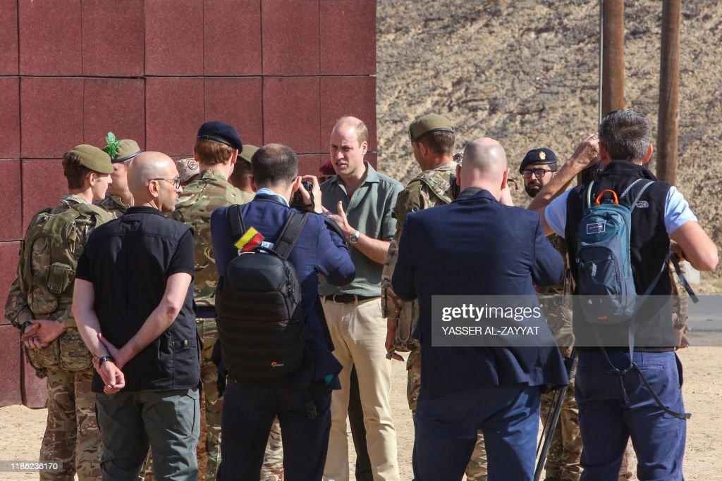 KUWAIT-BRITAIN-DIPLOMACY-ROYALS-SECURITY : News Photo