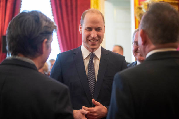 GBR: The Duke Of Cambridge Hosts A Reception For The Metropolitan and City Police Orphans Fund