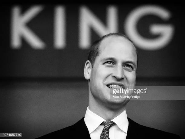 Prince William Duke of Cambridge visits Leicester City Football Club's King Power Stadium to pay tribute to those people killed including club owner...